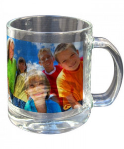 Tasse en verre translucide - publimug