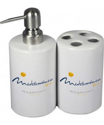 Distributeur de savon céramique - publimug