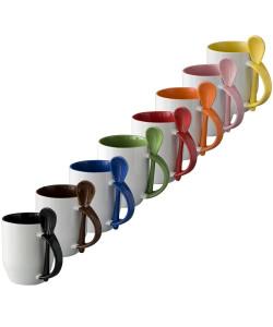 Tasses céramiques bicolores - publimug