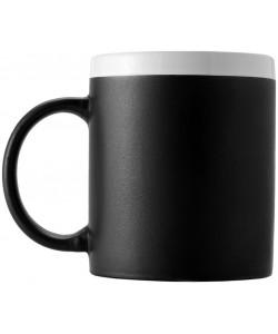 Mug céramique CHALKY Noir - publimug