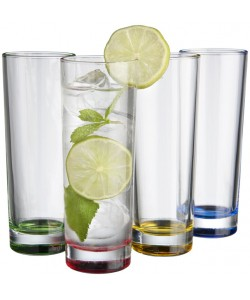 Set de 4 verres multicolores - Publimug