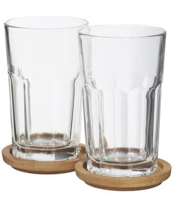 Set de 2 verres Linden personnalisable - Publimug