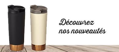 Nouveautés mugs tasses isothermes publicitaires publimug mug personnalisés